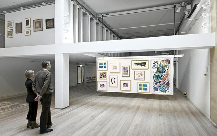 Konstvisningsmaskin för konstverk