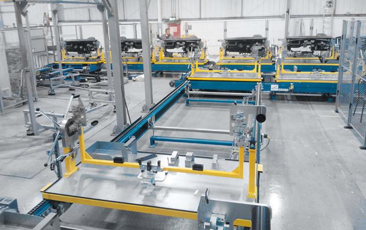 Automatisk transport av instrumentpaneler